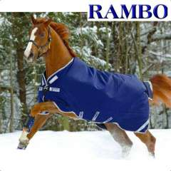 Couverture Horseware Rambo Original with legs arches medium 200g