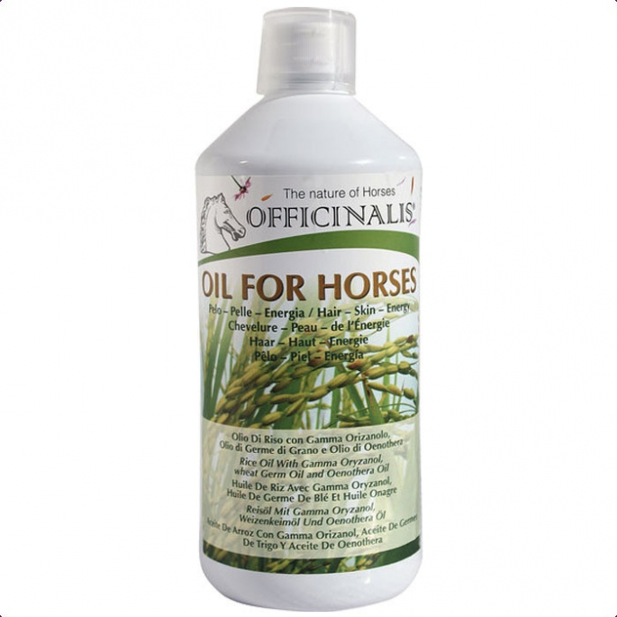 Officinalis oil for horse