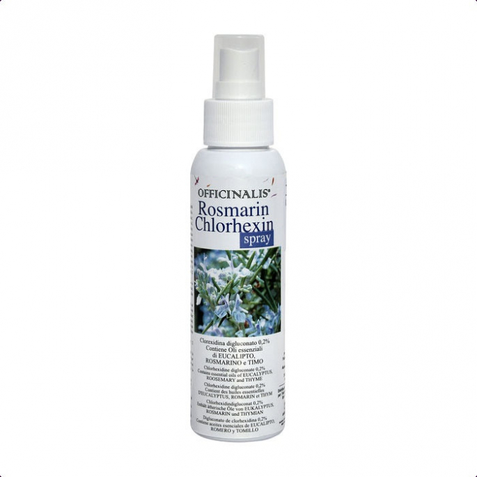 Spray de soin Officinalis Romarin Chlorhexidine 125ml
