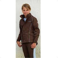Veste Equithème Antibes | choco ciel - 8ans enfant