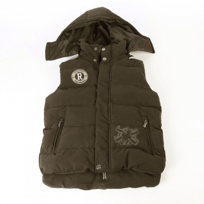 Gilet doudoune After Riding Calgary | marron - XL homme