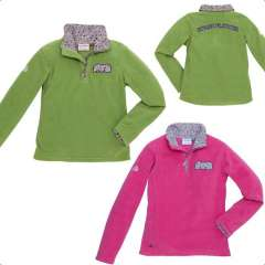 Sweat polaire Equithème Flower dames