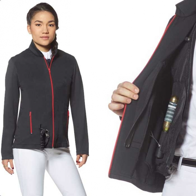 Veste Softsheel Airsafe Privilège Equitation dame
