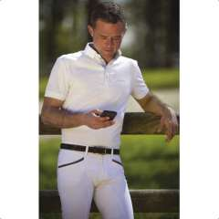 Polo Equithème Mesh manches courtes - homme