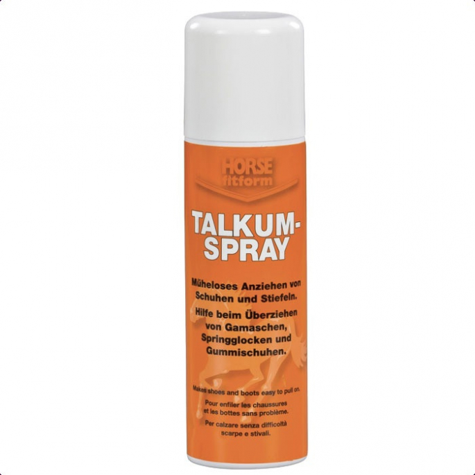 Talc en spray Talkum Spray Horse Fitform Pharmaka