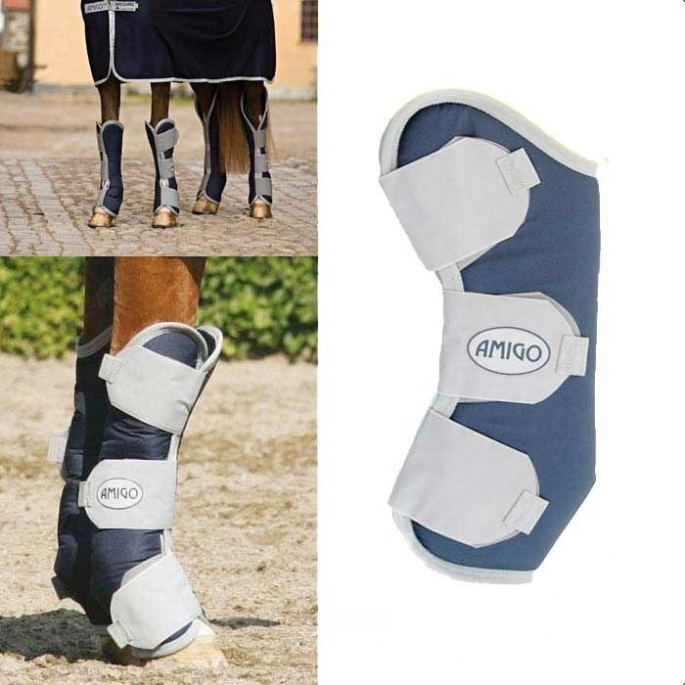 Guêtres de transport Horseware Amigo Travel Boots