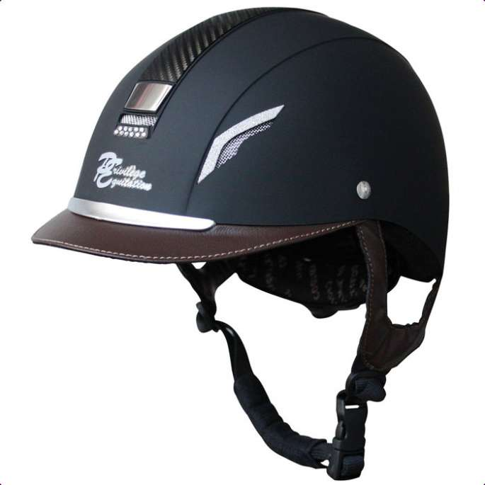 Casque Bright'on Privilège Equitation